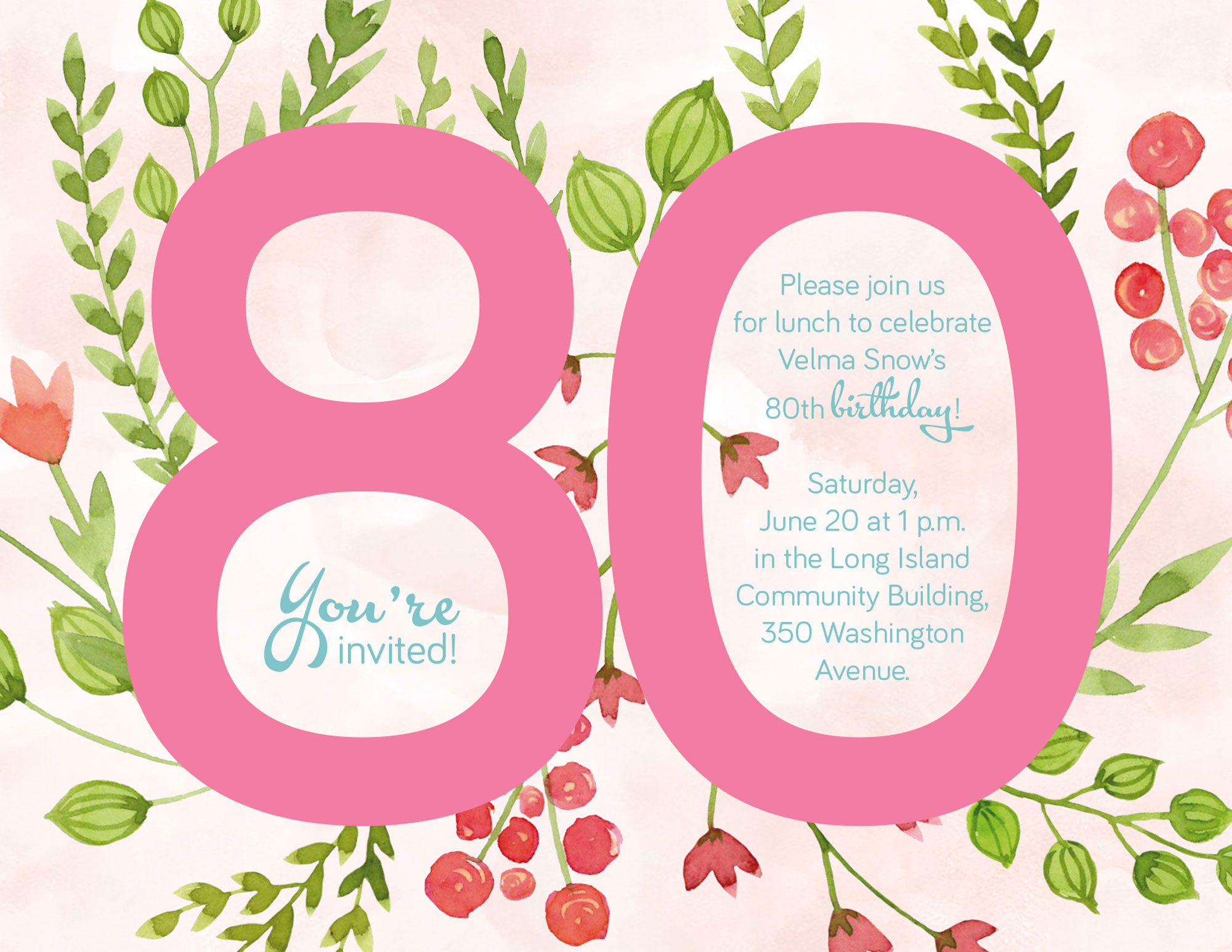 Grannie Turns 80 – What to Write in 80th Birthday Card